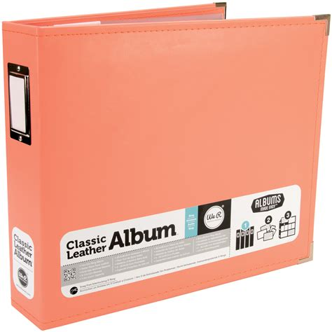 Carla Craft Ring Binding System 12 Hi Store classic faux leather 12 quot 3 ring binder album at joann