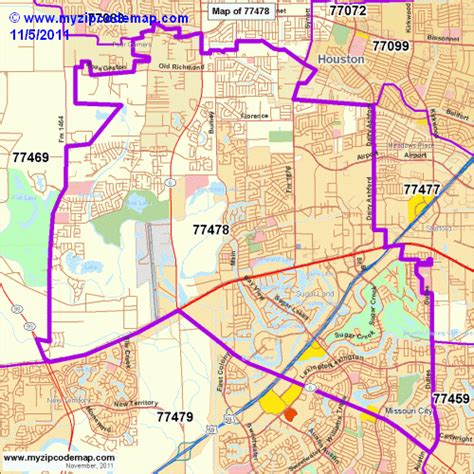 sugar land texas zip code map zip code map of 77478 demographic profile residential housing information etc