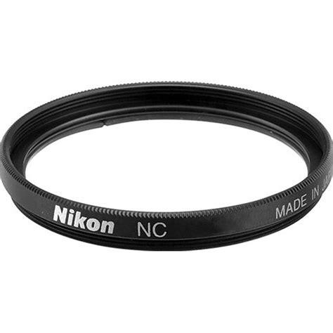nikon filter uv 58mm nikon 58mm filter nc neutral clear 2483 b h photo