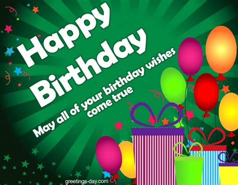 Free Happy Birthday Wishes For Happy Birthday Best Wishes And Greetings