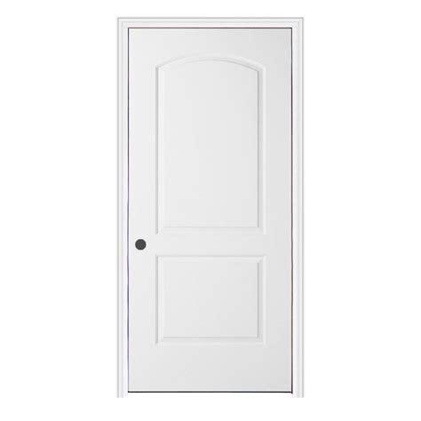 Split Jamb Interior Doors Jeld Wen 32 In X 80 In Smooth 2 Panel Arch Top Primed Molded Split Jamb Composite Single