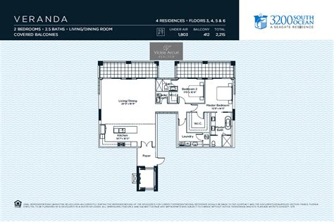 veranda floor plan 3200 south condo highland intracoastal condo