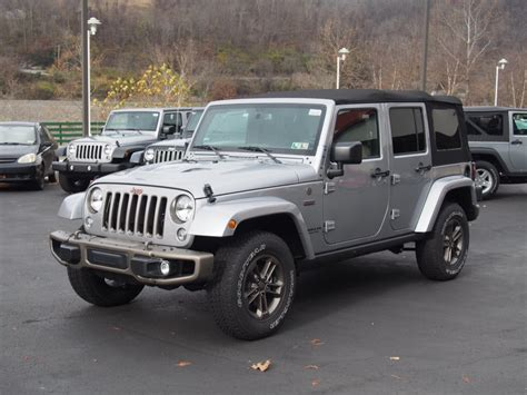 Jeep Dealerships In Wv 2016 New Jeep Wrangler Unlimited For Sale Morgantown Wv