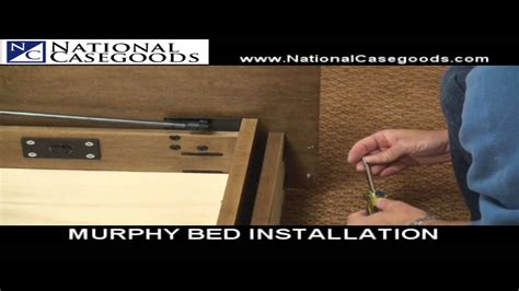 Murphy Bed Installation by Murphy Bed Assembly And Installation National Casegoods