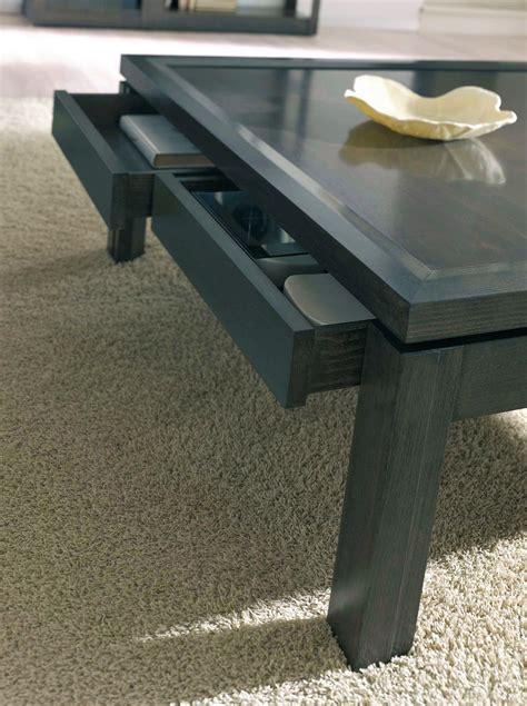 mesas de centro con cajones mesa de centro con cajones en nogal alta decoraci 243 n
