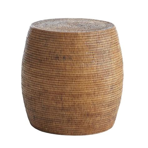 cheap outdoor drum stool rattan drum stool rattan drums and stools