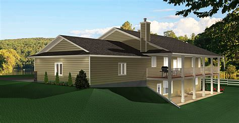 Bungalow House Plans With Walkout Basement by Bungalow House Plan 2011545 Edesignsplans Ca