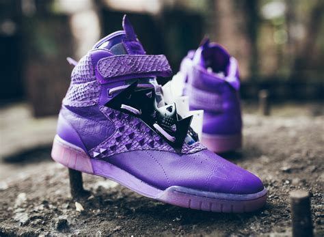Reebok Classic Purple High Murah mohr x reebok classics come together for an