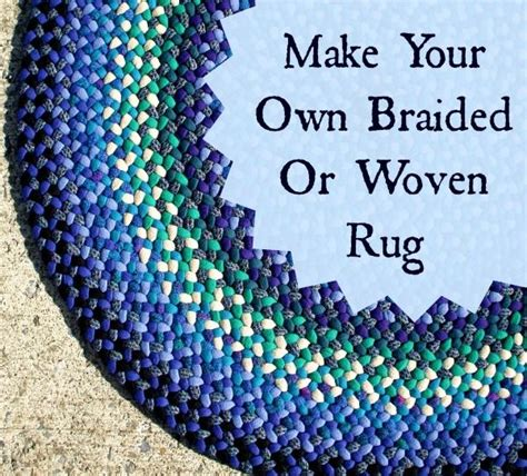 how to make a woven rag rug keep busy this winter make your own braided and woven rugs knits woven rug and make your
