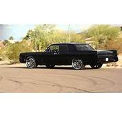 Only Murdered Out 64 Lincoln Continental On 24s