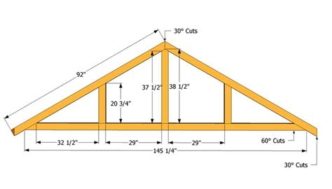 How To Build A Simple Cupola Truss Patterns Large Shed Roof Plans Projects To Try