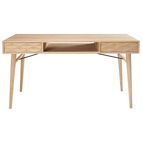 scrivania francese scrivania 2 cassetti in legno massello di quercia francese