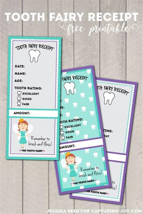 tooth receipt template free tooth receipt free printable gyerekeknek