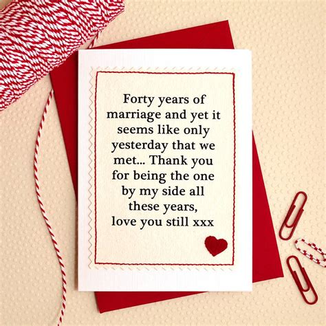 Handmade Anniversary Gifts For - handmade wedding anniversary card by arnott cards