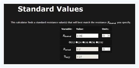 standard inductor values pdf calculate standard resistor values in 28 images resistor colour code reproduced standard