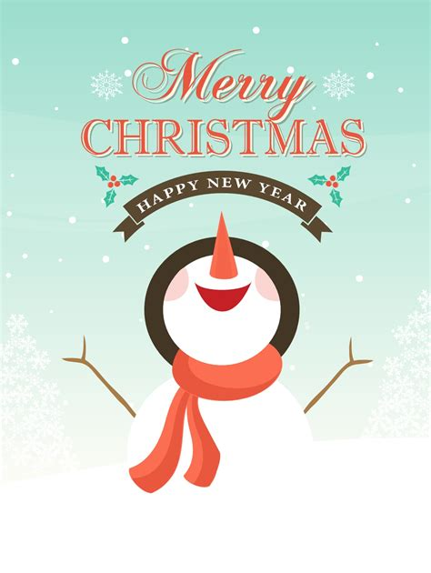 vector snowman christmas background   vector art stock graphics images