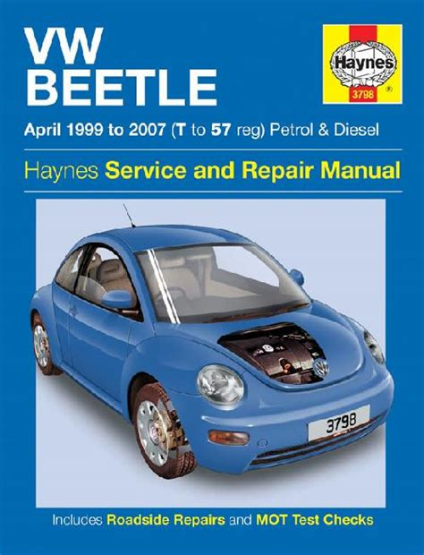 online car repair manuals free 1988 volkswagen golf windshield wipe control volkswagen vw beetle 1999 2007 repair workshop manual new workshop car manuals repair books