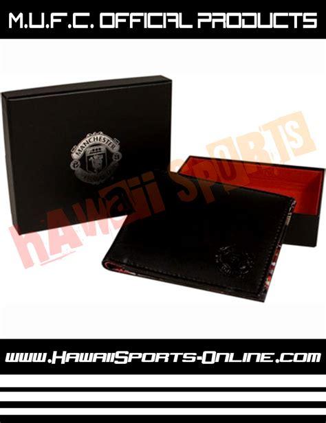 Tas Sepatu Manchester United Black by Toko Olahraga Hawaii Sports Official Merchandise Dompet