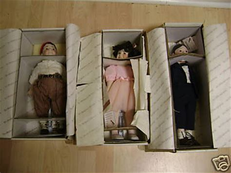 porcelain doll storage boxes marcitect rascal porcelain dolls with boxes