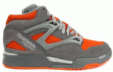 reebok hexalite basketball shoes reebok hexalite shoe reebok grey orange from