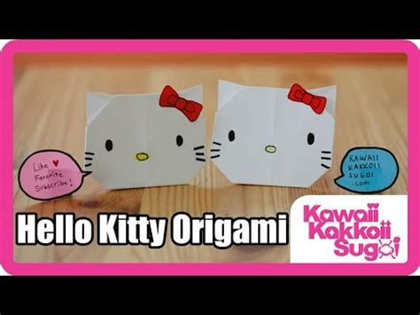 How To Make A Paper Hello - how to fold hello origami hd