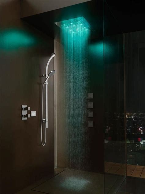 rain shower head with lights 10 best images about shower heads on pinterest
