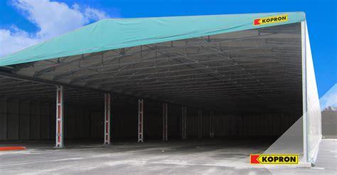 capannoni in pvc usati capannoni mobili in pvc kopron per plastipol