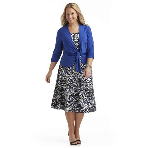 perception s plus dress cardigan abstract print