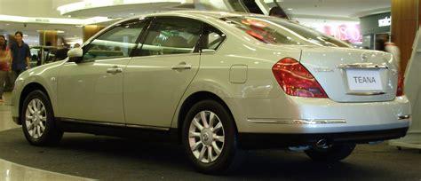 nissan teana 2008 file nissan teana first generation first facelift rear