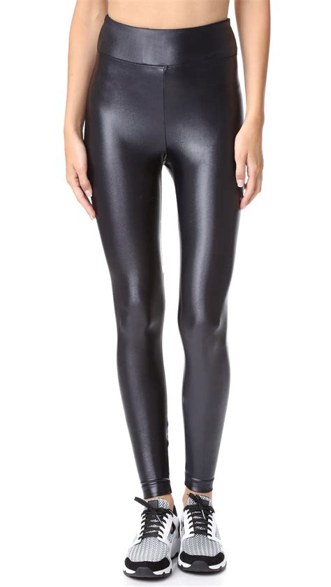 High Rise Legging koral activewear lustrous high rise in black lyst