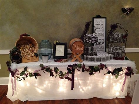 Wedding Gift Ideas Wine by Wine Theme Wedding Gift Table Wedding Ideas