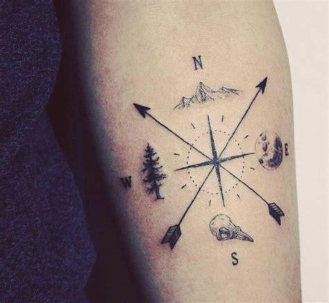 tattoo compass with arrow mountain tattoo adriftis surf co m o u n t a i n
