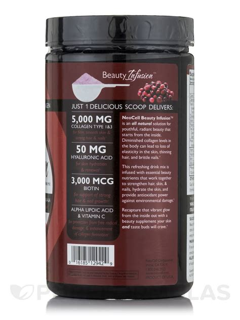 Cranberry Collagen 5000mg infusion 5000 mg of collagen cranberry cocktail