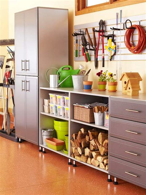 cheap way to organize garage