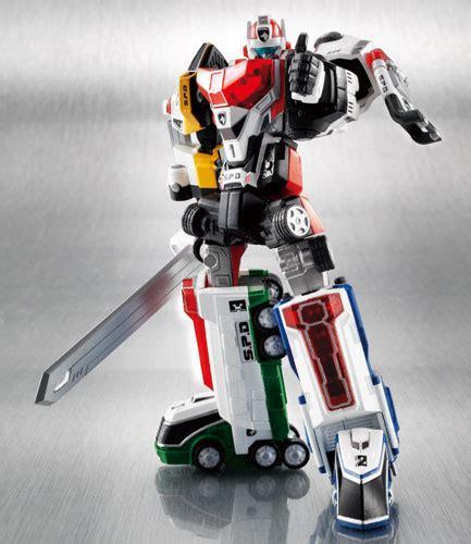 Ssk Power Ranger Robot Figure robot chogokin dekaranger robo official images