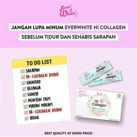Everwhite Hi Collagen jual everwhite hi collagen minuman pemutih kulit tubuh