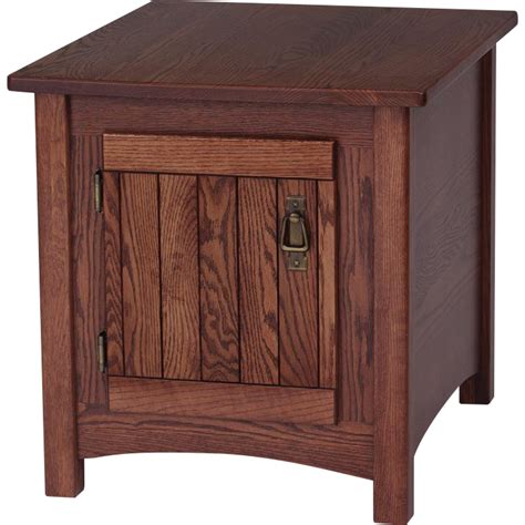 mission style accent table solid oak mission style end table 21 quot x 25 quot the oak