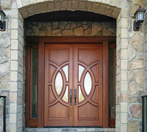 stunning solid wood entry door ideas   home