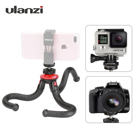 Tripod Lipat For Dslr Gopro Smartphone Fe046 3 ulanzi mini octopus mobile tripod with phone holder adapter for iphone x smartphone