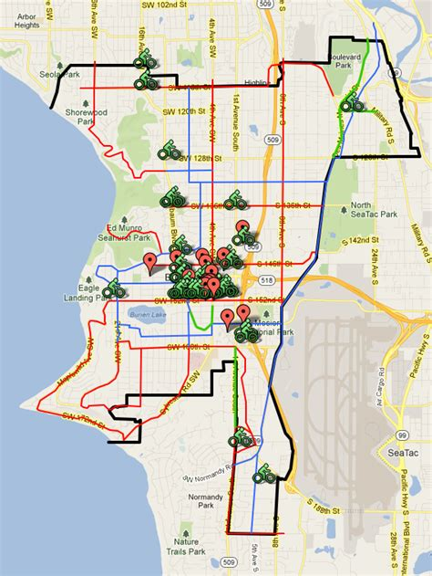 Racks Locations by Bike Rack Locations Wabi Burien