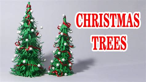how to make paper christmas tree making of paper