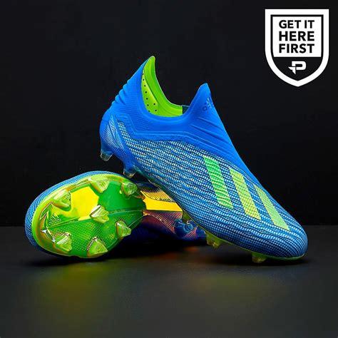 adidas   fg mens boots firm ground football blue