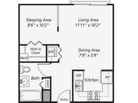 in law apartment floor plan planos ii pinterest 600 sf in law unit google search upper room
