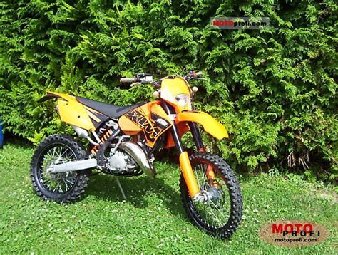 2007 Ktm 125 Sx Specs Ktm 125 Exc 2007 Specs And Photos