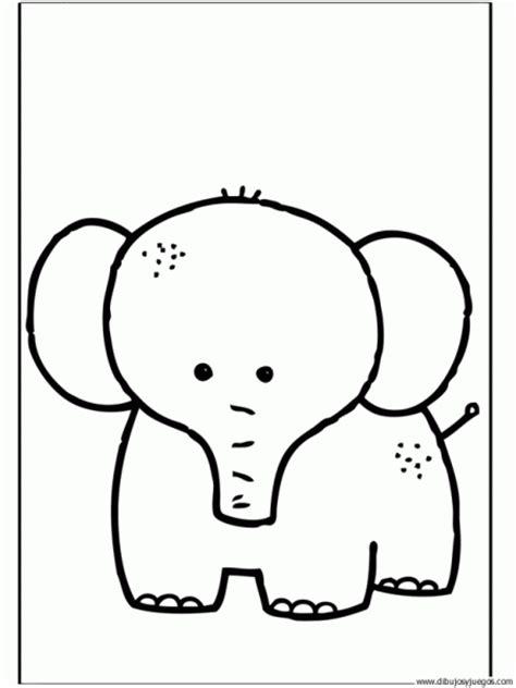 imágenes de elefantes fáciles para dibujar elefantes animados faciles imagui
