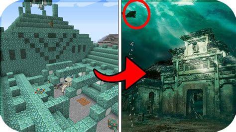 imagenes reales de minecraft las 05 estructuras de minecraft en la vida real youtube