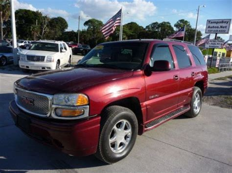 how to learn about cars 2002 gmc yukon xl 2500 navigation system sell used 2002 gmc yukon denali in 7028 us hwy 19 new port richey florida united states for