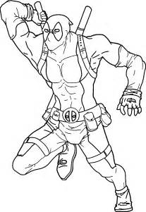 deadpool coloring deadpool coloring page coloring home