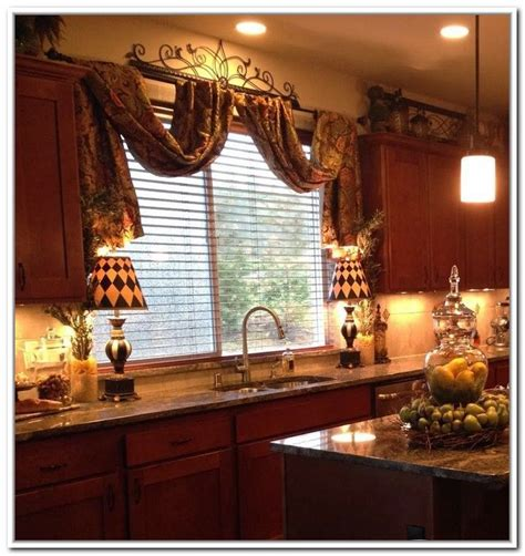 kitchen curtain styles best 25 tuscan curtains ideas on brown