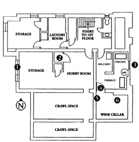 jonbenet ramsey house floor plan light in the windowless room